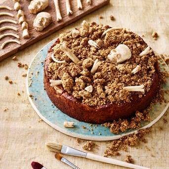 Emil_Obel Glutenfri æblekage med crumble og chokoladeknogler