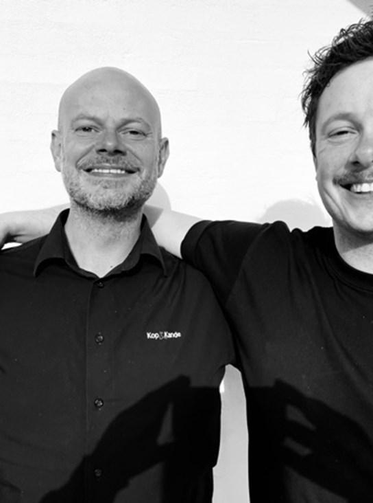 Butiksejerne Jens Martin & Jens Kristian