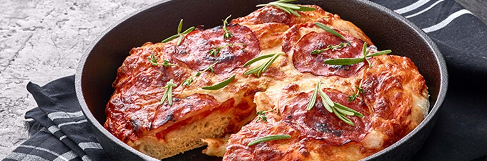 Aftensmad 1200X364px Deep Pan Pizza