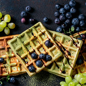 Morgenmadfrokost 298X298px Spinatvafler