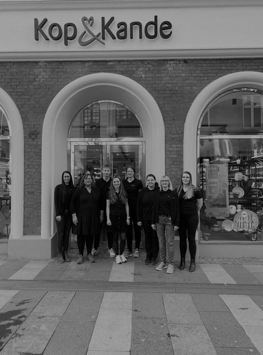 Teamet i Aarhus C