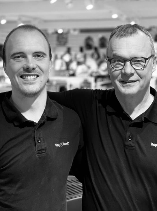 Butiksejerne Alexander & Aksel