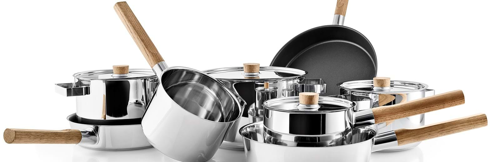 Nordic Kitchen Stainless Steel Collection HIGH